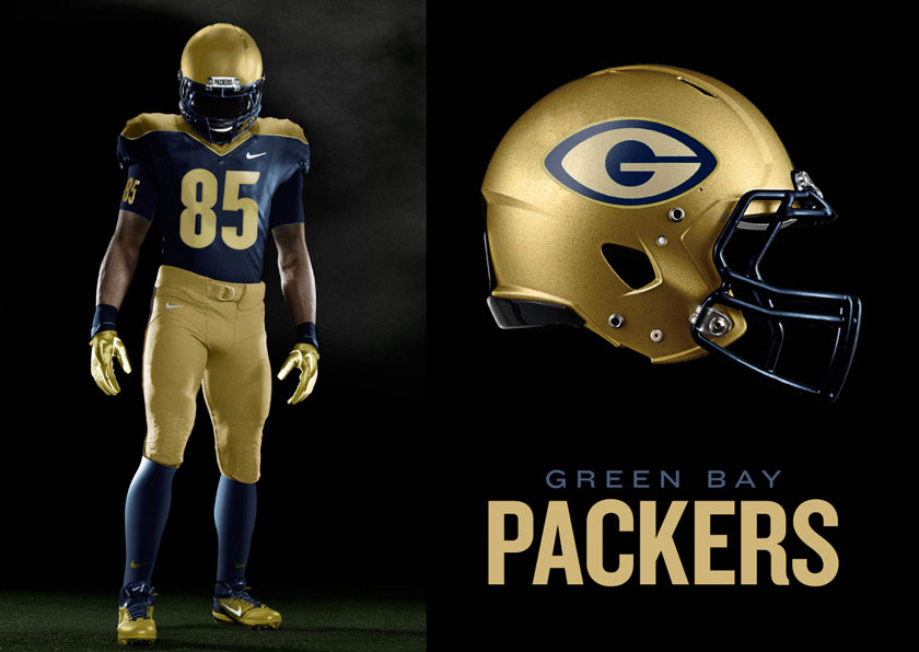 Green Bay Packers Proof of Concept Uniforms  b6ce24486