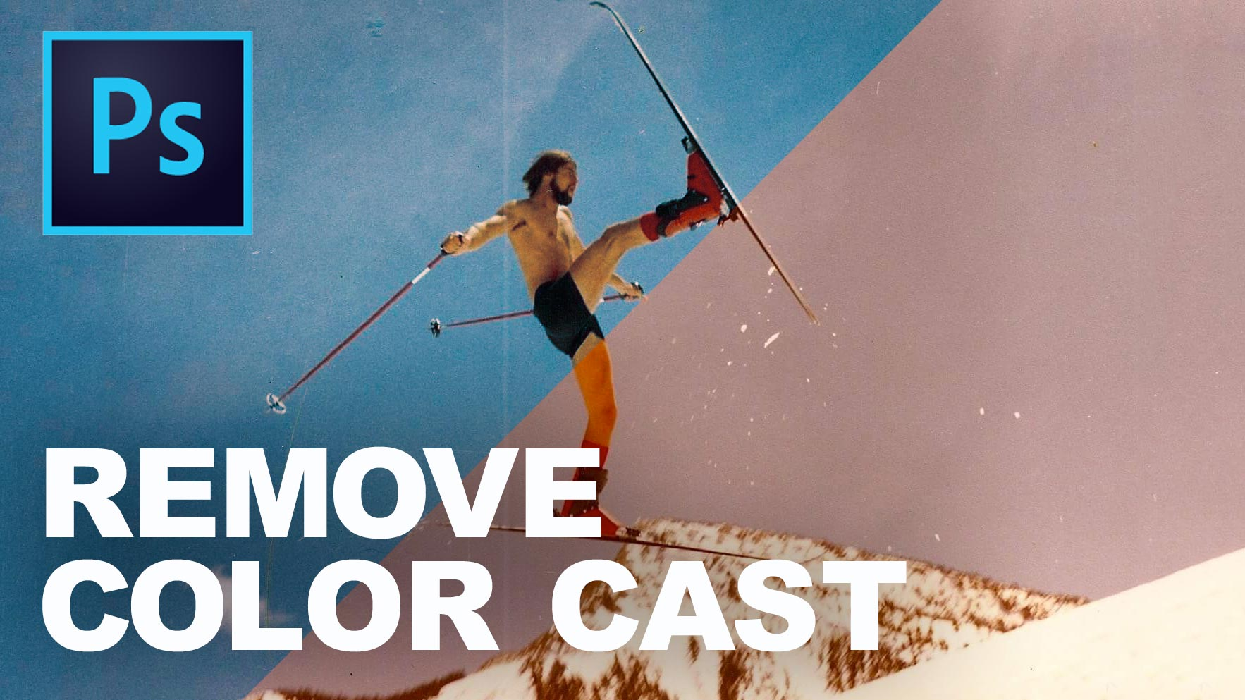 How to fix color cast in photoshop - How To Remove A Color Cast In Photoshop In 3 Easy Steps